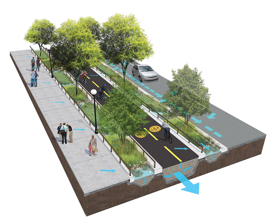 Transformative streetscape design for Jackson Street