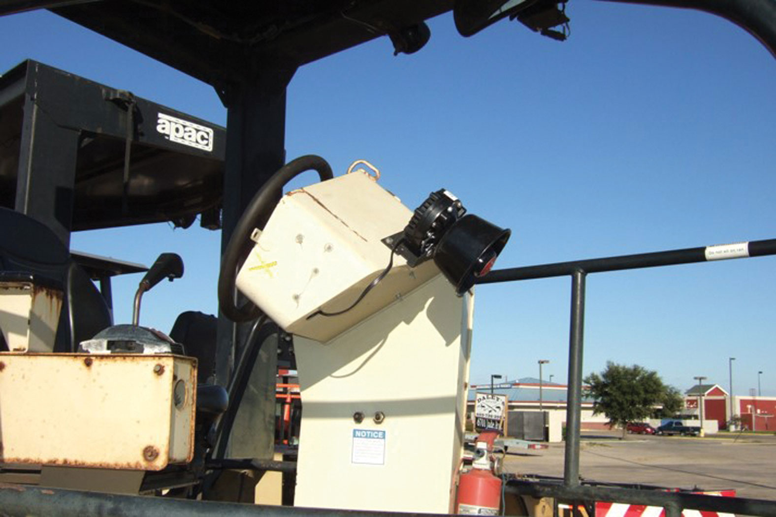 An advanced warning system can alert workers to an intruding motorist in work zones.