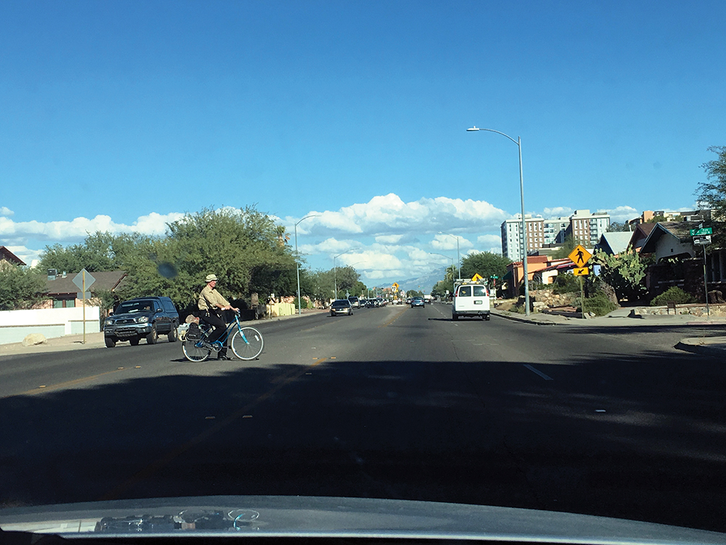 Tucson, Ariz., not planned to accommodate all modes of travel