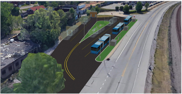 BRT line will have platforms designed for easy access for all riders