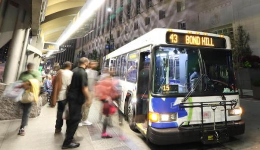 expanding public transit options for late-shift workers