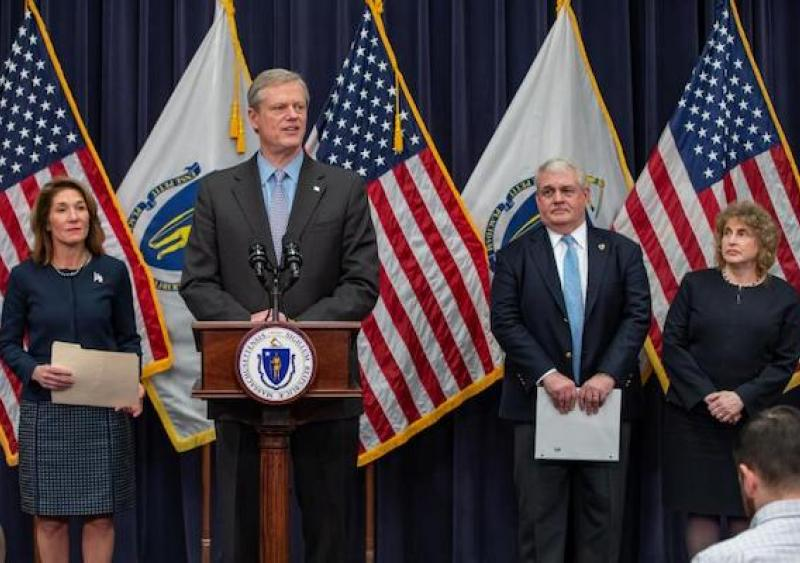 Gov. Baker budget proposal Massachusetts MBTA public transportation