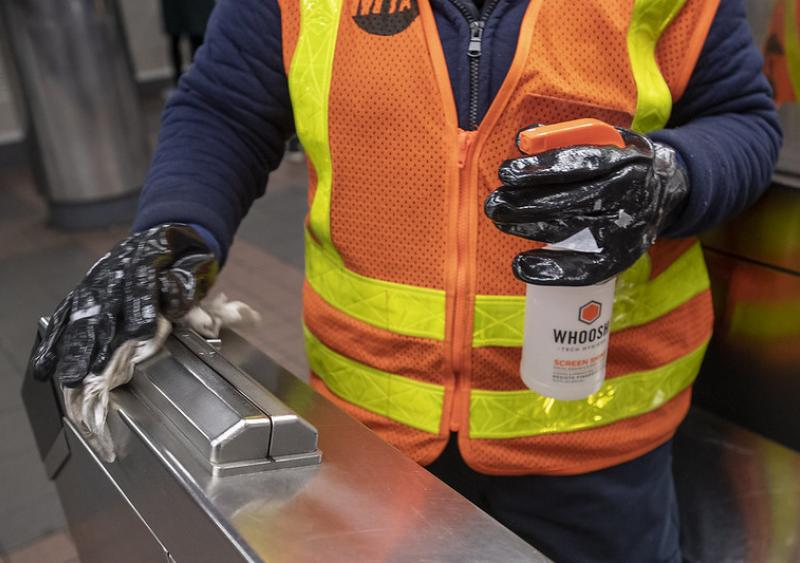 MTA implements enhanced sanitizing measures