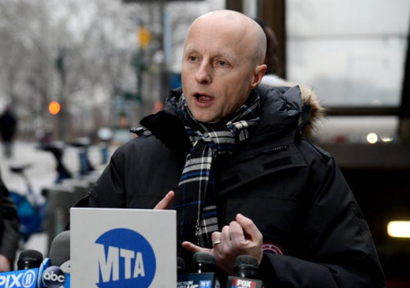 Andy Byford MTA NYCT chief resigns