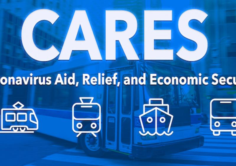 Federal Transit Administration funding through CARES Act coronavirus relief