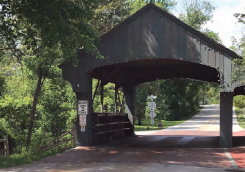 Long Grove covered bridge