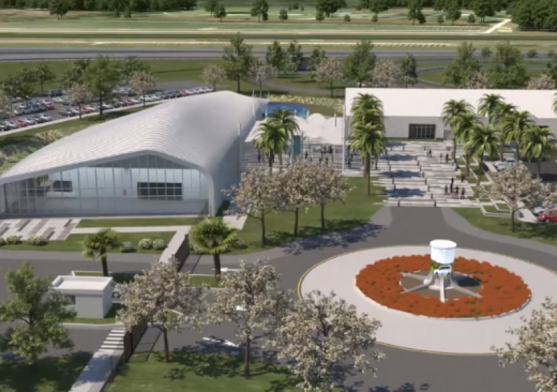 Florida DOT's SunTrax facility includest multi-scenario infield for driverless testing