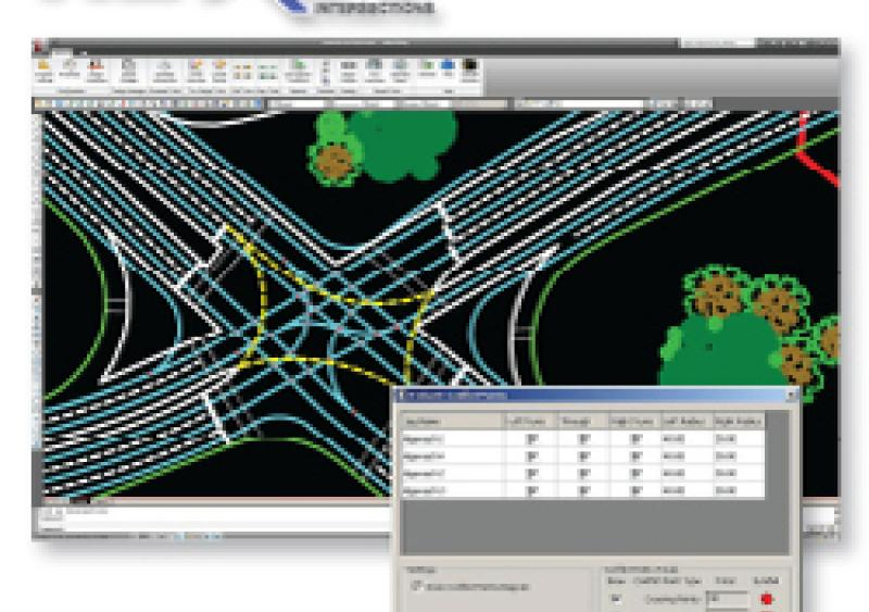 NEXUS, powerful and innovative CAD intersection design software from Transoft Solutions