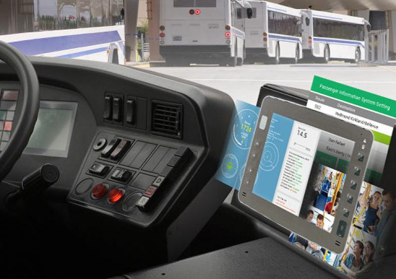 NEXCOM and AuroLED collaborated to offer an on-bus intelligent transportation system (OBITS) solution