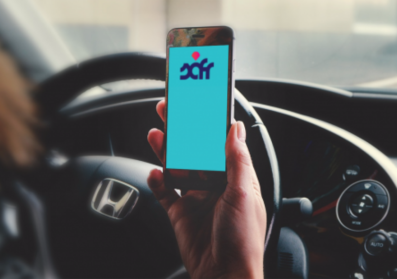 Safr ride-sharing app for women