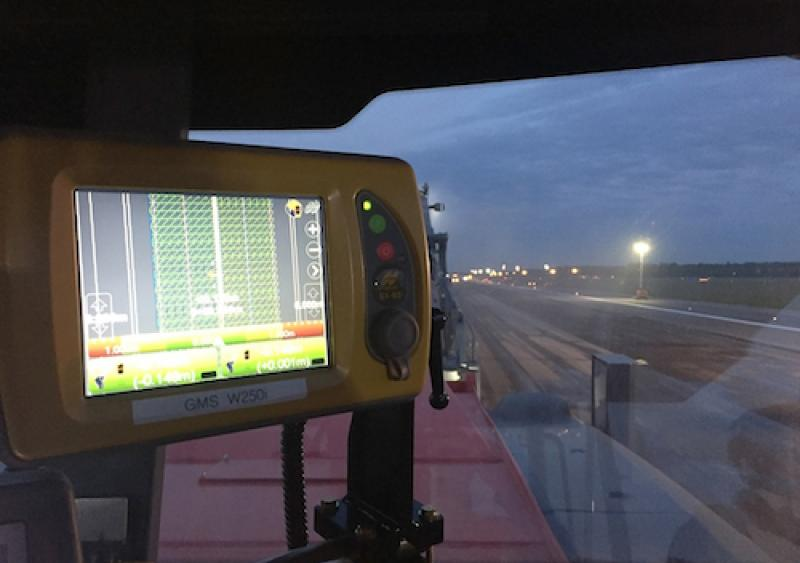 Topcon SmoothRide technology runway resurfacing