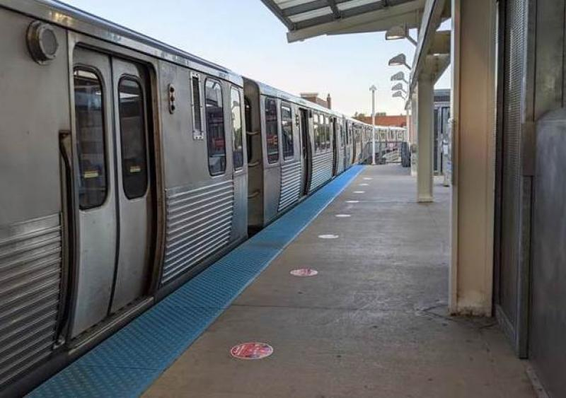 Chicago Transit Authority social distancing