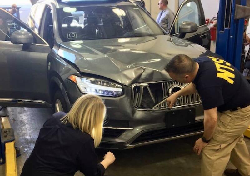 NTSB investigation of Uber automated test vehicle involved in collision in Tempe, Arizona