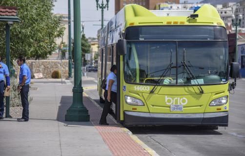Studying the impact of bus rapid transit in the city of El Paso